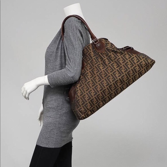 e9b4dc1f1d6b Fendi Handbags - Authentic fendi zucca De Jour